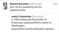 7.10.16 Edward Snowden, Public Opinion