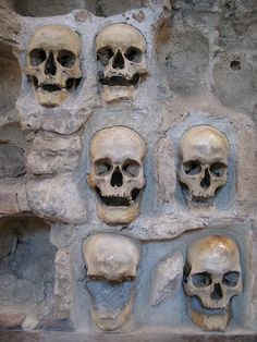 Skull Tower of Nis, Serbia // i find ossuaries morbidly fascinating. would love to actually visit one someday.
