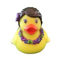 Rubber Hula Duck