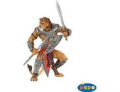 The Lion Man from the Papo Fantasy collection - Discounts on all Papo Toys at Wonderland Models. One of our favourite models in the Papo Fantasy figure range is the Papo Lion Man. Papo manufacture wonderful, amazingly accurate models of all sorts of toy figures, particularly warriors and mutants including this model of the Lion Man which can be complemented by any of the items in the Fantasy World and Fantasy Castle ranges.
