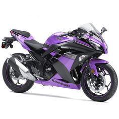 Painted Bike Previews. - Kawasaki Ninja 300 Forum ❤ liked on Polyvore featuring vehicles and accessories