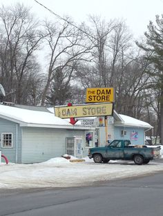 "The Dam Store -Oscoda, MI LOVE IT! Endless amounts of laughter as a kid saying ""are we going to the Dam Store?"" Lol"