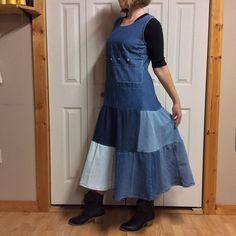 0dd3bc46a8 17 Best Denim Jumper Dress images