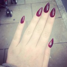 I dunno I like the pointed nails thing