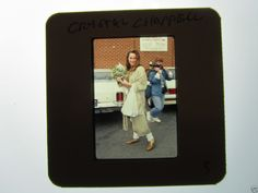 CRYSTAL CHAPPELL DOOL Days Of Our Lives 1990s 35mm slide UNPUBLISHED 5
