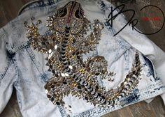 Декор на джинсовой куртке (подборка) / Курточные переделки / Своими руками - выкройки, переделка одежды, декор интерьера своими руками - от ВТОРАЯ УЛИЦА