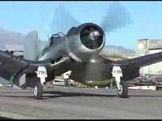 "F4U Corsair ""Whistling Death"" Flight Demonstration !"