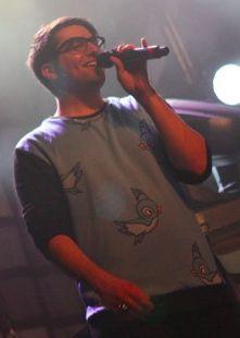 Aww! Look at his shirt<3