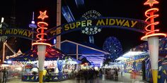 If you have never experienced the #StateFair after dark, you are missing out! Here are the top 6 things to do after 5.