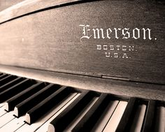 TITLE: Emerson This old piano was located in an abandoned bar. ABOUT MY ART I'm a Boston-based photographer with a passion for capturing the beauty of the world around me. I'm constantly on the hunt f