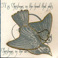 Bird Ornament Greeting Cards