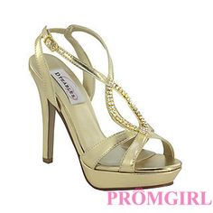 Cheer Gold at PromGirl.com