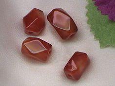 Agate gemstone beads - Red Agate, black Agate, Moss Agate