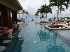 Four Seasons Resort Maui at Wailea Maui, Hawaii, United States It's a nice beautiful infinity pool with whirlpools, swim-up bar and NO kids!!!!!!!!