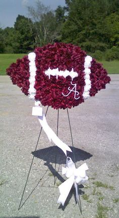 florida state football funeral floral arrangements | Football Flower Arrangements