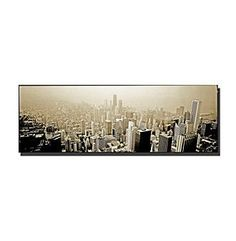 Chicago Skyline Framed Art by Preston