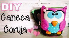 (DIY) Caneca Coruja (Owl Mug)