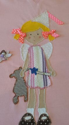 Sweet handmade things - patchwork: Nena Fada /  Niña Hada / Fairy girl