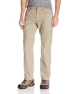 prAna Living Mens Bronson 30Inch Inseam Pant 34 Dark Khaki >>> Visit the image link more details.