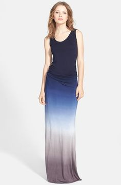 Free shipping and returns on Young, Fabulous & Broke Ombré Shirred Maxi Dress at Nordstrom.com. A stunning ombré effect defines this slinky, floor-skimming maxi dress tailored with flattering shirring at the hips and finished with a sporty racerback.