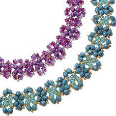 Saturday Night Bracelet - free pattern by Deb Roberti