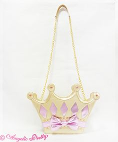Princessティアラバッグ 10,584 yen / $102 2 colors available