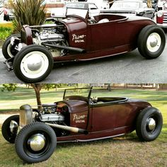 Rat Rods, Car Man Cave, Traditional Hot Rod, Ford Roadster, Fancy Cars, Hot Rod Trucks, Vintage Racing, Street Rods, Ford Models