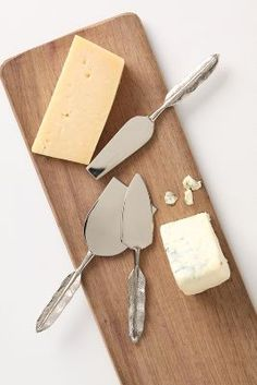 Quill Cheese Knife Set