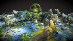 XR Landscape - Skull II by mwintersberger