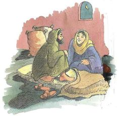 Boaz and Ruth in a children's story look pretty innocent.