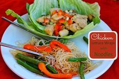 Lori's Culinary Creations: Easy Weeknight Meal: Chicken Lettuce Wraps