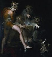 MACBETH, Act 4, Scene 1 Thrice the Brinded Cat Hath Mew'd