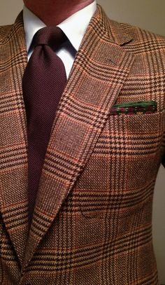 Blaser Cintré Suit - I love the colours and pattern, This would look great on someone with brown skin :-)