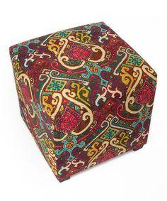 Loving this Afeni Ottoman on #zulily! #zulilyfinds