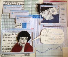 Doodlers Anonymous: Doodle Art - Page 3 Skye Lane Art Bullet Journal Art, Art Journal Pages, Art Pages, Gcse Art Sketchbook, Art Diary, Sketchbook Inspiration, Sketchbook Ideas, Sketchbook Layout, Doodle Art