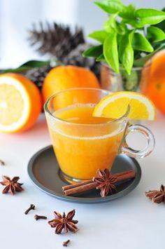 Zuckerfreier Mandarinen-Punsch & Apfel-Orangen-Punsch mit Zimt und Nelken