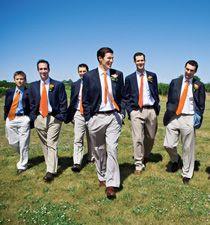an alternative to a tux for an outdoor farm wedding?