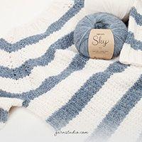 Sheep Happens! / DROPS 194-2 - Gratis strikkeoppskrifter fra DROPS Design Lace Patterns, Knitting Patterns Free, Free Knitting, Baby Knitting, Free Pattern, Crochet Patterns, Drops Design, Crochet Diagram, Free Crochet