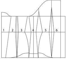 Underbust corset pattern - 34 by learningtofly_katafalk, via Flickr