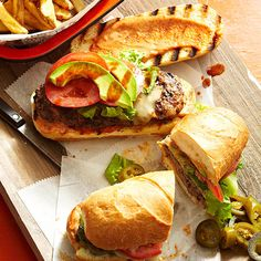 Tortas Hamburguesas (Mexican Hamburgers)....Take your burgers for a south-of-the-border trip with a few Mexican ingredients. Cilantro, lime juice, and onion mixed into the ground beef add bites of Southwestern flavor to this burger recipe. From there, it's all about the toppings. Try sliced avocado with our easy paprika sauce.