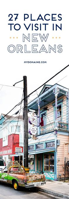 Space Guide The only NOLA guide you'll ever need // New Orleans travel - Searching for things to do in New Orleans? Read on for the ultimate New Orleans travel guide. New Orleans Travel Guide, New Orleans Vacation, Places To Travel, Travel Destinations, Places To Visit, Travel Route, Travel Guides, Travel Tips, Travel Hacks