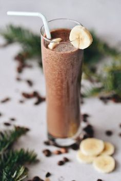 Sweet Desserts, Sweet Recipes, Healthy Recipes, Smoothie Drinks, Smoothies, Beverages, Food And Drink, Health Fitness, Ice Cream