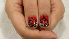 Funky butterfly design Butterfly Design, Nail Arts, My Nails, Class Ring, Bowtie Pattern, Nail Art Tips, Nail Art