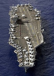 The first ship i served on which also happened to be the ship my daddy served on only 20 yrs earlier! USS NIMITZ