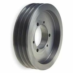 V-Belt Pulley, 6 In OD, 3GRV by Gates. $109.91. V-Belt Pulley, Quick Detachable Bushed Bore, Bore Dia. Bushing Required, SDS Bushing Required, Outside Dia. 6.00 In., 3 Groove, Solid Construction, 3V Belt Pitch Dia. 5.95 In., Pitch Pitch Diameter is 0.05 In. Less than Outside Diameter, Cast Iron Material, For Use With 3V or 3VX Single and Joined Type V-Belts, RMA and MPTA 3V and 5V Quick Detachable SheavesFor use with single and joined type V-belts.RMA and MPTA co...