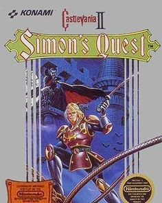 On instagram by classic.videogames #nes #microhobbit (o) http://ift.tt/1U3amvL II : Simon's Quest #nintendo  #castlevania2 #simonsquest #nintendo #gaming #videogames