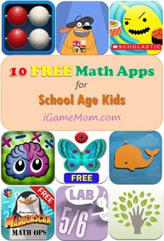 10 Free Math Apps for Elementary School Kids - fun math games, engage math lessons making math learning enjoyable for kids