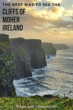 The best way to experience Ireland's Cliffs of Moher is to do the Cliffs of Moher Walk from the visitor center back to Doolin. Here's how you can do it. via @Ottsworld
