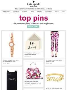 what's piquing your pinterest? - Kate Spade New York