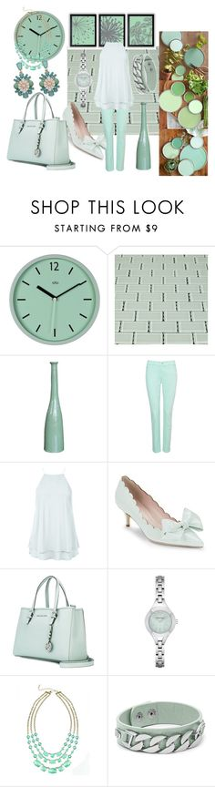 """""""Set 2 - In Lighten Mint"""" by sharee64 on Polyvore featuring NYDJ, New Look, Kate Spade, MICHAEL Michael Kors, Emporio Armani, Love Struck and BillyTheTree"""